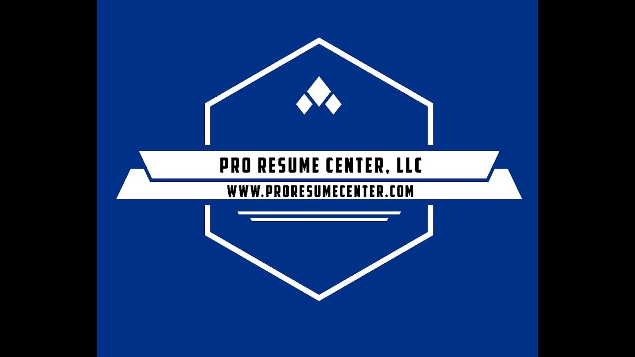 how to write a great resume pro resume center llc youtube
