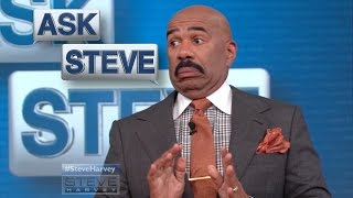 Ask Steve: The lawyers wouldn't approve it? || STEVE HARVEY