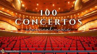 100 Concertos  - Classical Music