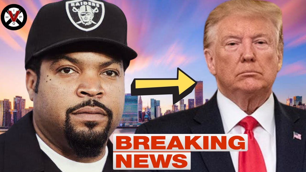 Will Celebrites & Hip Hop Artist Now CANCEL Ice Cube After His Recent Meeting With Trump?!