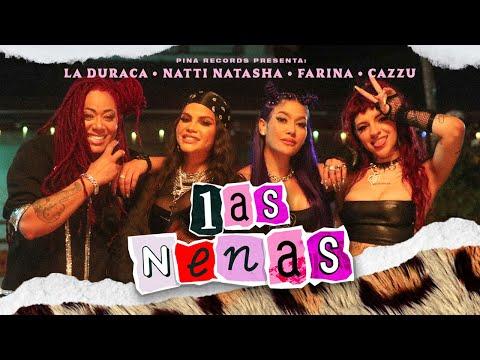 """Natti Natasha x Farina x Cazzu x La Duraca estrenaron """"Las Nenas"""""""