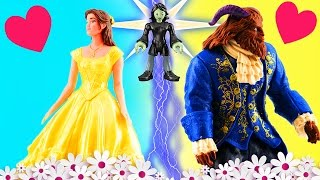Beauty and the Beast Movie 2017 Belle Misses the Beast. Prince Adam Changes into the Beast!