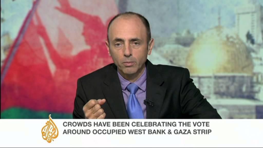 Former US diplomat speaks on Palestinian UN status