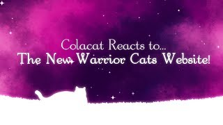 New Warrior Cats Site Reaction