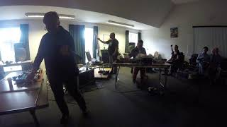 Video Richard Scott and Mia Zabelka Perform with Live Art by Jeff Lipsky, at Xfest, UK 2017 download MP3, 3GP, MP4, WEBM, AVI, FLV Desember 2017