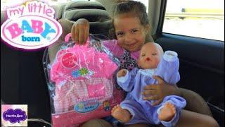 Диана покупает новую одежду для Беби Борна Рутина Одежда для куклы Беби Борн / Clothes for Baby Born