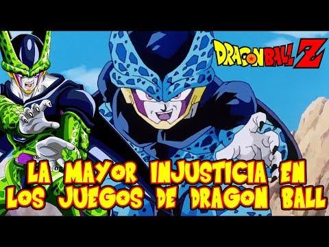 LA INJUSTICIA MAS GRANDE EN LOS JUEGOS DE DRAGON BALL CON CELL JR