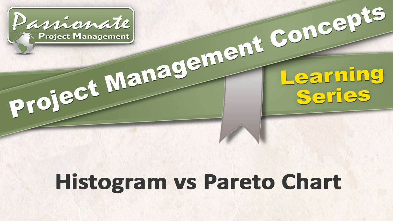 Project Management Concept 29 Histogram Vs Pareto Chart Youtube