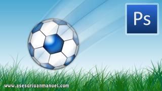 Tutorial Photoshop - Balón de Soccer