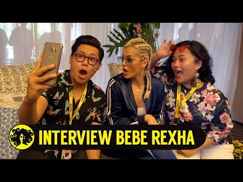 INTERVIEW BEBE REXHA with Mario & Genus #TropicalGarden