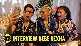 INTERVIEW BEBE REXHA with Mario & Genus #TropicalGarden