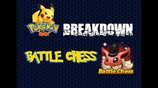 Pokemon Mega Breakdown: Battle Chess