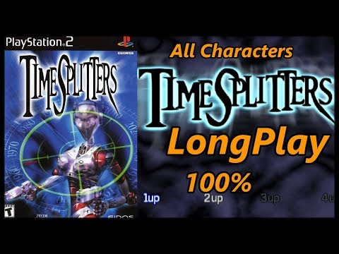 Timesplitters 1 Ps2 - Longplay 100% Full Game Walkthrough Story/Challenges Unlocking All Characters