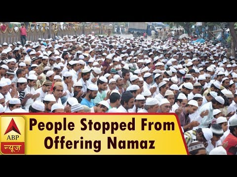 People Stopped From Offering Namaz In Open Places In Gurugram As Right-Wing Organisations