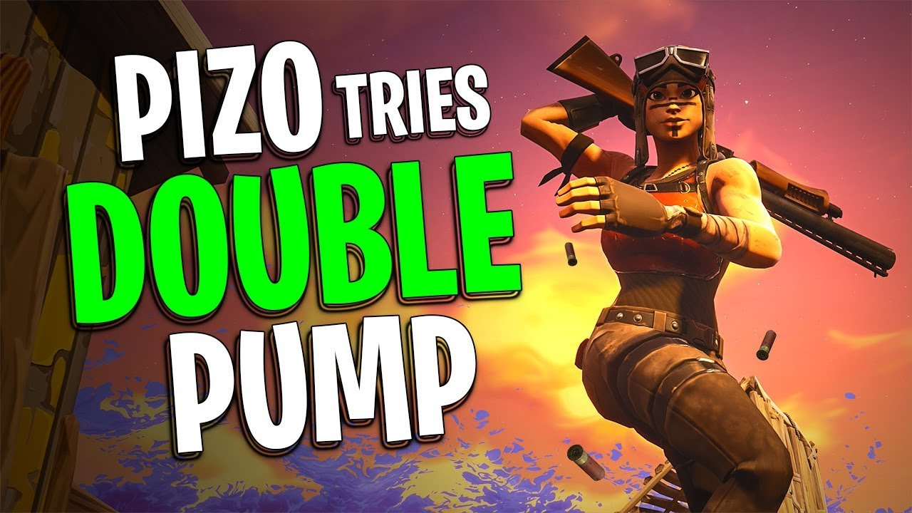 PIZO Tries Double Pump   Renegade Raider Gameplay   Fortnite