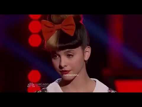 The Voice: Melanie Martinez vs Caitlin Michelle Winner