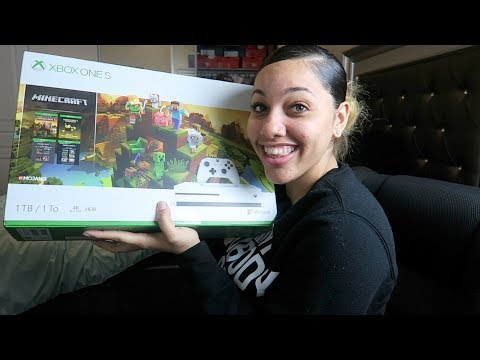 Xbox One S 1TB Minecraft Creator Bundle + Black Ops 4 Unboxing | Perkyy