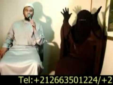 ملك الجن يعترف لرئيس الرقية المعتمد بالمغرب الراقي المغربي نعيم ربيع