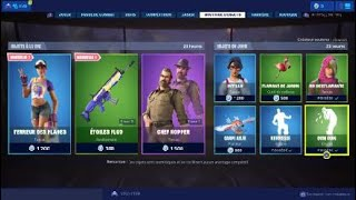 "FORTNITE BOUTIQUE OF JULY 7, 2019 - NEW SKIN ""TERROR OF PLAGES"""