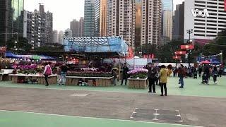 香港年宵市场禁卖政治宣传品  被批压制言论自由
