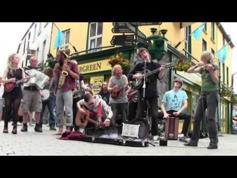 "Thumbnail: GALWAY STREET CLUB, ""House Of The Rising Sun"", Galway, Ireland 2016"