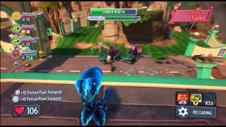 Plants Vs Zombies Garden Warfare Garden Ops Crash Course Plasma Pea