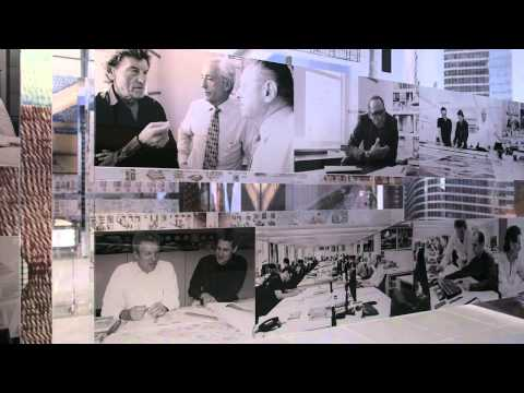 Helmut Jahn Exhibition - Process Progress
