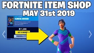 SOCCER SKINS RETURNED! - Fortnite Item Shop 31st of May (FORTNITE BATTLE ROYALE)
