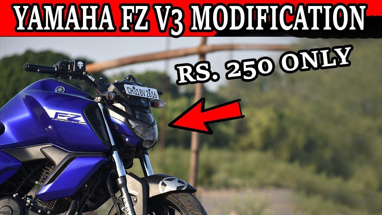 Yamaha fz fi v 3 0 sticker modification at cheap price 2019