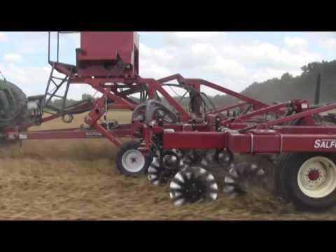 Cover Crop Seeding With Valmar Seeder (419) 953-8500 | Fennig Equipment