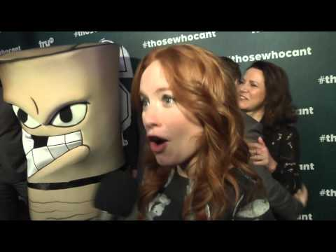 """Maria Thayer Interview at the premiere of """"Those Who Can't"""" on TruTV"""