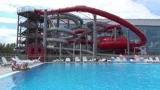 "The Amazing and Spectacular New Aquapark ""Лебяжий"" in Minsk, Belarus.  Минск, Беларусь"