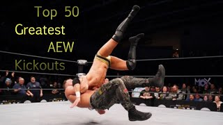 AEW Top 50 Greatest Kickouts part 1