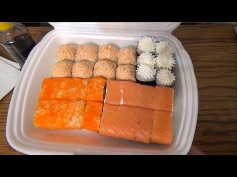 Обзор на ресторан доставки Суши Wok. Суши вок Уфа отзывы от Vilimas TV