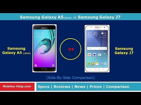 Samsung Galaxy A5 2016 Vs Samsung Galaxy J7 Which Is Best