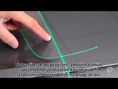 knifeless tape anleitung messerlose fahrzeugvollverkl doovi. Black Bedroom Furniture Sets. Home Design Ideas