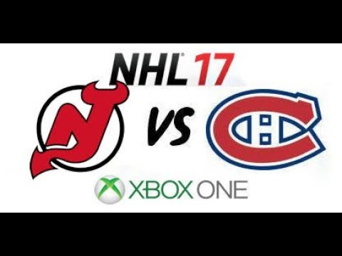 NHL 17 - New Jersey Devils vs Montreal Canadiens - Xbox One