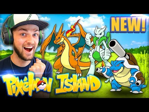 MEGA POKEMON HYPE (+ CRAZY LUCK)! - Pixelmon Island #7 w/ Ali-A