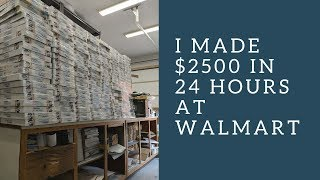 Retail Arbitrage At Walmart:  I Made $2500 In One Night On One Item