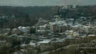 Caylus sous la neige 26 12 2008