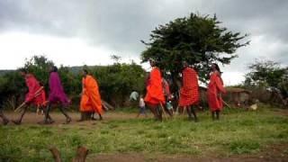 2007年冬、世界一周で訪れたケニヤにて.