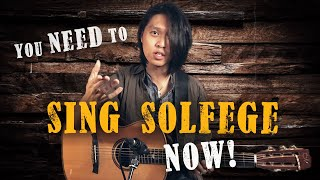 Why ALL Guitarists NEED to Sing Solfege!
