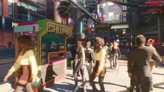 Cyberpunk 2077 Gameplay 4K