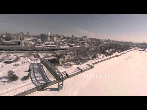 NSK copter Novosibirsk Russia drone aerial filming by TVDATAru Russian Media Company
