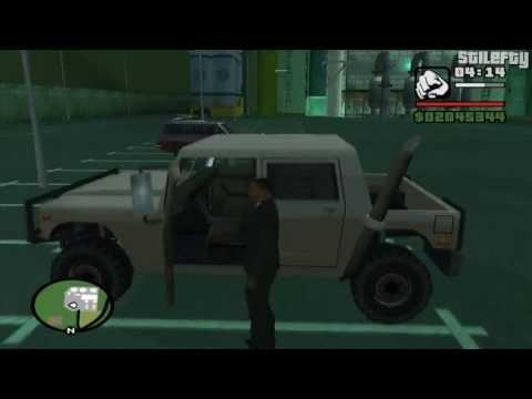 GTA San Andreas - Import/Export Vehicle #8 - Patriot