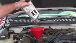 Oil Change & Filter Replacement Ford Explorer 4.0L V6 1994-2000