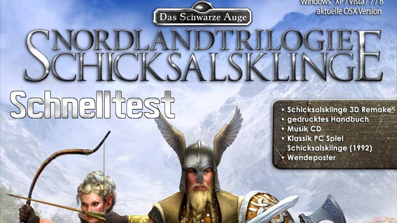 DSA Das schwarze Auge Nordland Trilogie Schicksalsklinge Infovideo Schnelltest deutsch HD Preview