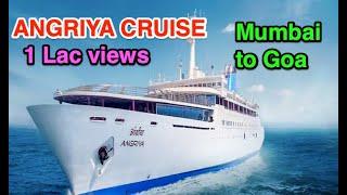 Angriya Cruise - Mumbai to Goa | Booking | Price | Review