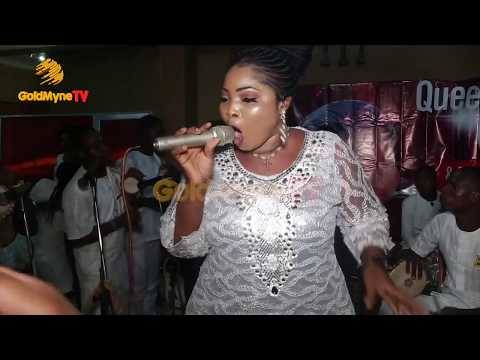 BUSOLA OKE'S PERFORMANCE AT ALL WHITE PARTY FOR FANS CLUB
