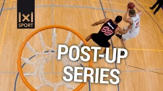 Effective Post Up Moves & Drills for Big Men and Power Forwards #Basketball